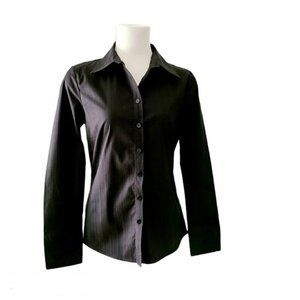 4/$30 Jacob Black Fitted Button Down Shirt